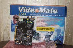 ТВ тюнер спутниковый Compro VideoMate S300