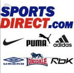 Спортсдирект, под 5 проц, доставка 7 дней или через склад 5проц и вес
