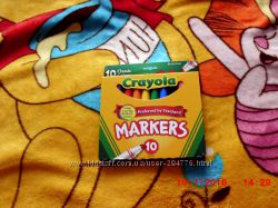 фірмові фломастери маркери crayola