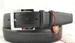 Ремень мужской кожаный . отличное качество - доступная цена
