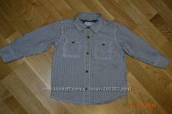 Классная рубашка OLD NAVY р. указан 2 г. на рост 92 см
