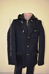Herdal- стеганая куртка-пальто-пиджак 100 шерсть 5-16 лет