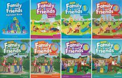 Оригинал, Family and Friends Starter, 1, 2, 3, 4, 5, 6, Workbook, Classbook