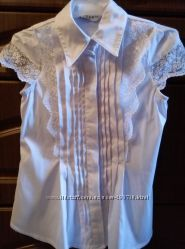 Блузка белая   Ahsen Morva для девочки