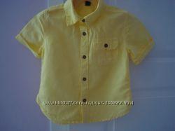 Рубашки льняные GAP  3-5 лет
