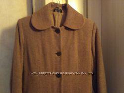 Зимнее пальто на утеплителе шерсть кашемир р. 38 или М