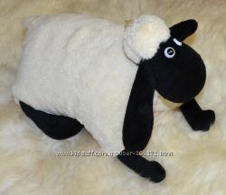 подушка-игрушка баранчик Шон на липучке