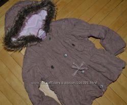 Очень классная стильная курточка деми стеганная 2 - 3 года