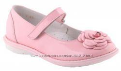 Туфли розовые, кожа-лак, состояние новых, на празники неск. раз. ТМ Шаговит
