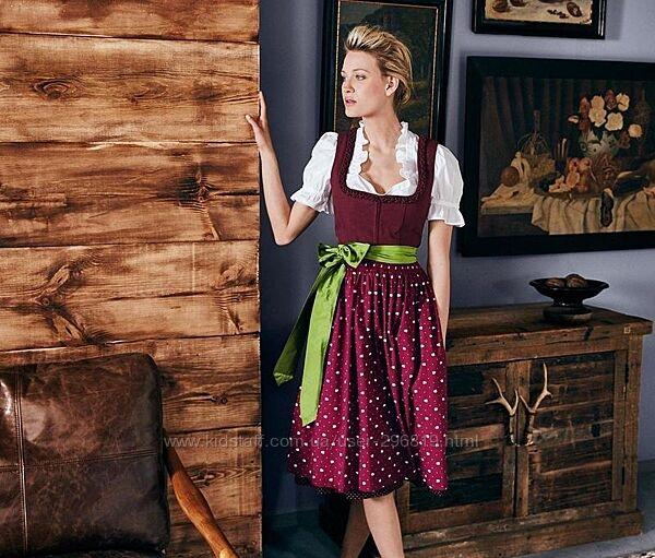 Баварский традиционный костюм от tcm tchibo, германия. дирндл