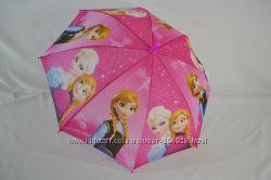 Зонтик для девочек 5-9 лет Frozen Эльза, Холодное сердце