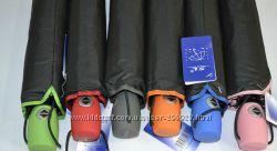 Стильные молодежные зонты-автоматы с яркой каймой