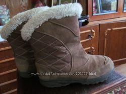 Зимние теплые сапоги COLUMBIA, р. 5 USA - 23см