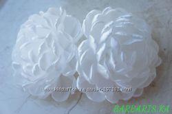 Бант Белая хризантема