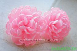 Бант Розовая хризантема