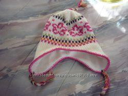 Шапочки для девочки и шарфик