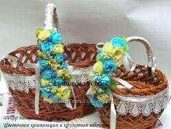 Украшение на Пасхальную корзину ручной работы, Киев, Украина