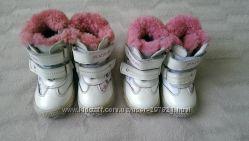 Зимние ботиночки р 23-15см , 24-1, 5, 5