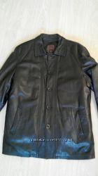 Куртка кожаная мужская, зимняя и демисезонная