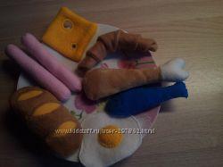 Детские игровые вкусные наборы Еда