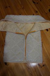 Одеялко-конверт с овчиной