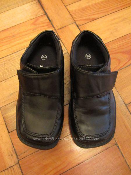 Классные весенне - осенние полу ботиночки туфли мальчику. Стелька 16, 5 см