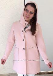 Стильное итальянское пальто из неопрена.