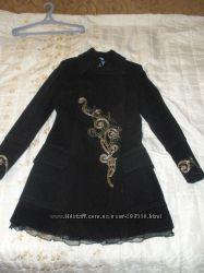 Кашемировое пальто 48р.