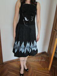 27b89de1157 Черное вечернее платье Италия 38р.