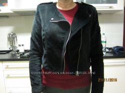Шикарная фирменная  черная курточка  Н&M размер S