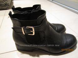 Полусапожки черные модные 37 р. Catwalk