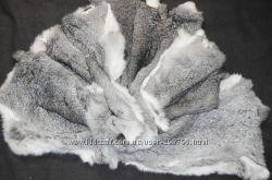 шкурки кролика цвет silver