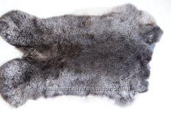 шкура кролика калифорния серебро