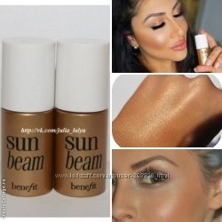 Сверкалки хайлайтеры Benefit SunBeam ShyBeam Whatts That Gal
