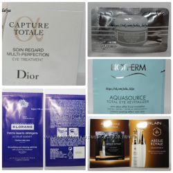 Крема для глаз саше пробники Shiseido Guerlain Bioterm