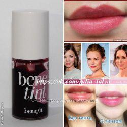 Бестселлер продаж Benefit Тинт для губ и щечек Benetint миниатюры оригинал
