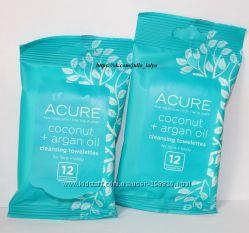 Очищающие органические салфетки для лица Acure