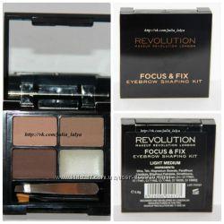Палетка для бровей Makeup Revolution UK оригинал