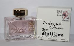 John Galliano Parlez-Moi dAmour edt миниатюра 10мл оригинал