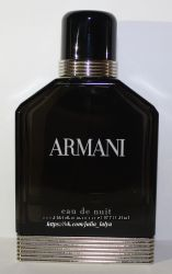 Мужской Armani eau de nuit остаток 20мл во флаконе оригинал