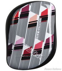 Расческа Tangle Teezer Compact Styler Lulu Guinness Vertical Lipstick Print