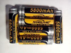 Аккумулятор 18650 3, 7В 8, 5Wh 5800 мАh новые