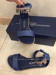 Сказочные босоножки Miss Blumarine с бижутерией ручной работы