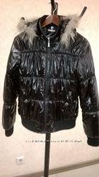 Лаковая куртка на синтепоне