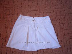 Беленькая юбочка на лето. Хлопок