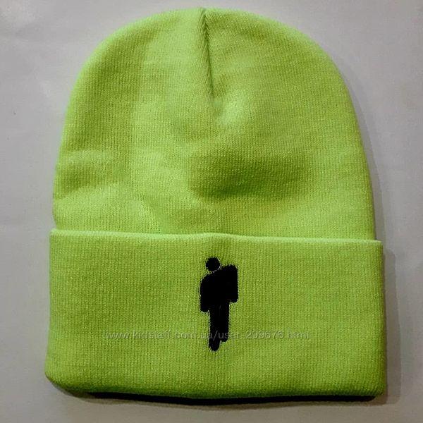 Модная шапка с логотипом Billi Eilish