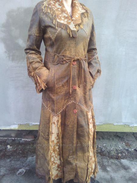 Пальто из натуральной кожи, качественная фабричная Турция