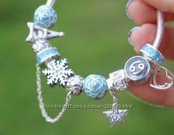 Заказ браслеты , шармы , подвески , кольца, серьги  Soufeel стиль Pandora