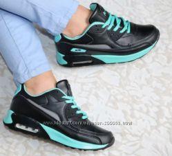 кроссовки реплика Nike Air Max эко-кожа