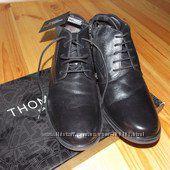 Ботинки новые зимние мужские  натуральная кожа и мех, 39 размер, Германия